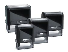 PERSONALISED/CUSTOMISED RUBBER STAMP SELF INKING, BUSINESS,NAME,ADDRESS,etc
