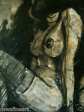 Erotic art,Nude, Archival quality print, A3/A4.