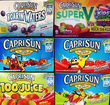 Capri Sun Fruity Juice Drinks Individual Pouches w/ Straws ~ Pick One