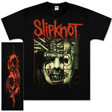 SLIPKNOT Tour T-Shirt FACE COLLAGE - CONCERT SHIRT - Corey Taylor - LOGO ON BACK