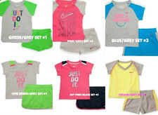 * NWT NEW GIRLS NIKE SHORTS SHIRT SUMMER OUTFIT SET 4 5 6 6x