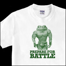 PREPARE FOR BATTLE mutant rash zit pimple nes video game battletoads funny TEE