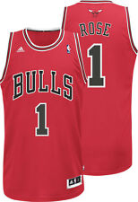 DERRICK ROSE Chicago Bulls Adidas YOUTH BOYS Swingman Basketball Jersey RED