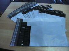 20 Grey Poly Mailer 7.5x10.5 & 6x9 Flat Plastic Shipping Envelope Bags w/Seal