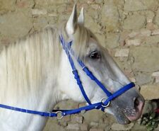 The GENUINE DR COOK BITLESS BRIDLE in BRIGHT BETA COLORS (Choose size and color)