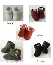 cute Ivory,gray,burgundy high top toddler baby girl shoes dress boots size 2,3,4