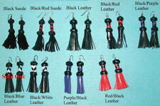 Leather Earrings Gotta L@@K at These C@@L Mini Floggers