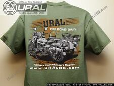 "NEW Very Cool ""Ural Adventure"" offroad 2WD T shirt S-3XL"