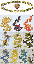 FABRIC CHINESE DRAGON IRON-ON DIY WALL DECOR CRAFT QUILTING APPLIQUE PATCH-WORK