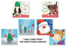 20 x Small Cute Childrens Christmas Xmas Cards Penguins or Reindeer