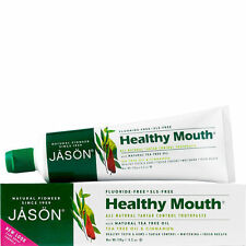 Jason Healthy Mouth Tartar Control Toothpaste Gel Powersmile Natural Whitening