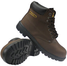 NEW MENS PANOPLY RUNNER SAFETY WORK BOOTS SHOES TRAINERS STEEL TOE CAPS RRP £48