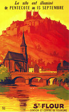 6329. St. Four station et centre de tourisme Travel POSTER. Wall Art Decorative.