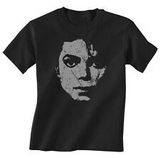 MICHAEL JACKSON KIDS MUSIC T SHIRT BOYS GIRLS GLAM ROCK NEW TOP GIFT W11