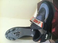 NEW LAKE CX115 SPIN  TRAINER CYCLING SHOES MENS SIZE 43 / 9 US SPD LOOK
