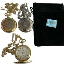 ROYAL ENGINEER POCKET WATCH RE REGIMENT CREST ENGRAVED, COMES WITH VELVET POUCH