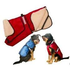 Waterproof Comfy Warm Dog Coat Red or Blue Reflective Strip All Sizes Available