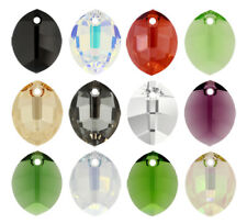 SWAROVSKI ELEMENTS 6734 Pure Leaf Pendant Many Colors & Sizes