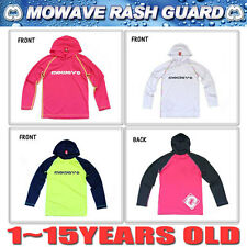 mowave kids rash guard swim wear long sleeve swim shirt top 1 to 15 years old 9
