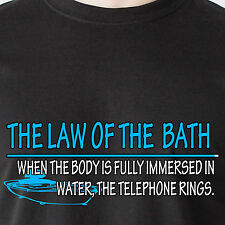 When the body is fully immersed in water, the telephone ring retro Funny T-Shirt