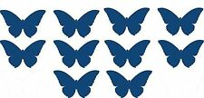Butterfly stickers10 pack vinyl decals for wall mirror car home decor 5x3 cm DIY