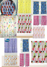 NEW CHILDREN'S BOYS / GIRLS ONE PAIR NOVELTY / TV CHARACTERS BEDROOM CURTAINS