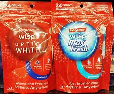 Colgate Wisp On The Go Mini Toothbrushes Freshens & Cleans Anywhere ~ Pick One