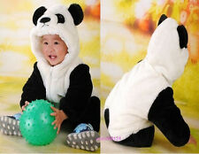 Meng babe panda animal modeling clothes baby onesies quilted thickened