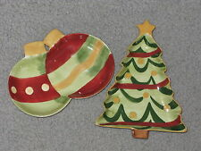 NEW IN BOXES-CHRISTMAS EXPRESSIONS CANDY DISH (TREE or ORNAMENTS) by INSIGHTS
