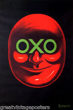 OXO RED FACE CAPPIELLO VINTAGE POSTER REPRO