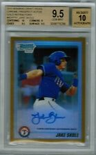 JAKE SKOLE 2010 Bowman Chrome Draft Prospects Gold Refractor AUTO #22/50 BGS 9.5