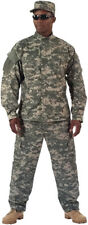 ACU Digital Camouflage Military BDU Cargo Rip-Stop Fatigue ACU Uniform