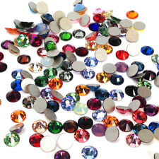 Swarovski 2058/2088 crystal flatback No-Hotfix rhinestone 1 gross 144 MIX COLORS