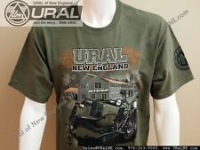 "NEW Design ""Ural Gear Up Military Green"" 2WD T shirt S-3XL"