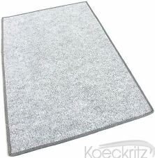 Misty Gray Indoor Outdoor Area Rug Carpet Non-Skid Marine Backing