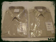 UK Army Latest Issue FAD Officer & OR Fawn Barrack & No2 Dress Uniform Shirt NEW