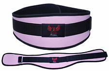 BOOM Pro Ladies Gym Belts,Weight Lifting Body Building,Fitness and Exercise P