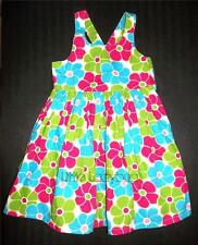 NWT Gymboree ICE CREAM SWEETIE Blue Pink Floral Flower Sun Dress 3 6 7 R1267