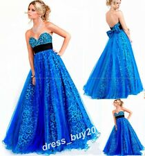 Sexy Leopard A-line Prom Party Quinceanera Dress Wedding Bridal Formal Gowns New