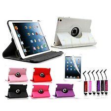 New Stylish 360 Degree Rotating Leather Stand Case For New Apple iPad Mini