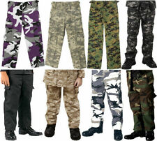 Kids Camouflage Military BDU Fatigue Pants
