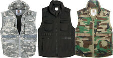 Camouflage Kids Military Tactical Ranger Vest With Hood