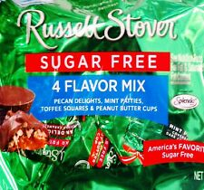 Russell Stover Werthers Reese's Sugar Free Diabetic Candy Large Bags ~ Pick One