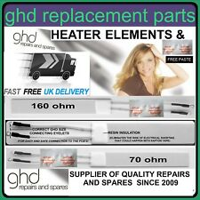 160 OHM or 70 OHM GHD Compatible heater elements with thermal paste