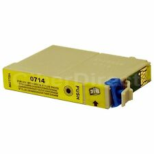 1 CiberDirect Replacement for Epson T0714 Printer Ink Cartridges - VAT Invoice