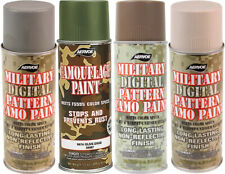 Camouflage Digital Pattern Military Spray Paint Can 12 Oz.