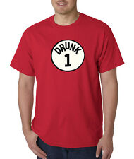 Drunk 1 One Dr Suess Thing Drinking Humor Funny T Shirt All Colors/Sizes