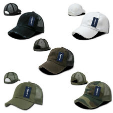 New Vintage Washed Mesh Trucker Hat Cap Basball Hats Caps Many Colors Available