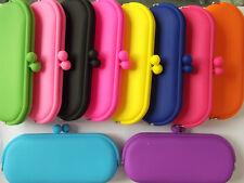"Women's Ladies ""SILICONE COSMETICI MAKE UP IPHONE OCCHIALI CHIAVI CUSTODIA PORTAMONETE WALLET"