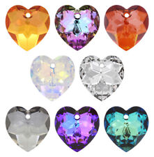 SWAROVSKI ELEMENTS 6215 Heart Pendant 18mm  Many Colors